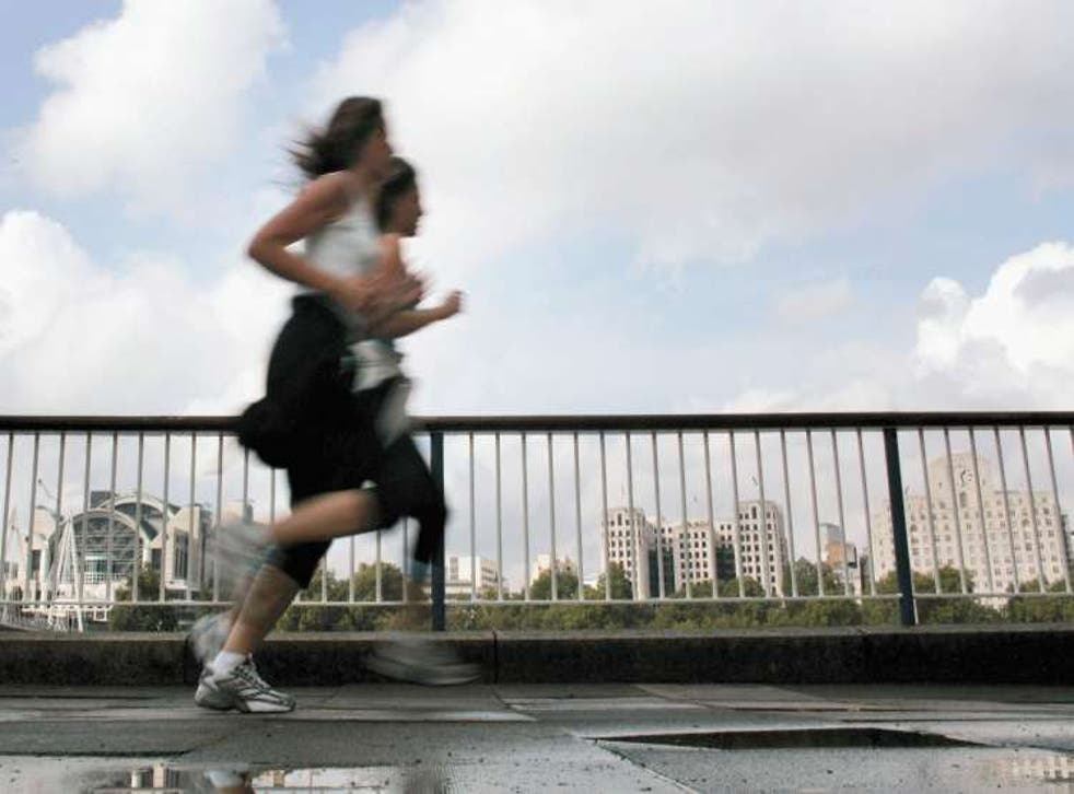 Scientists have claimed 'light' joggers who run for just one to 2.4 hours a week have the highest life expectancy rates