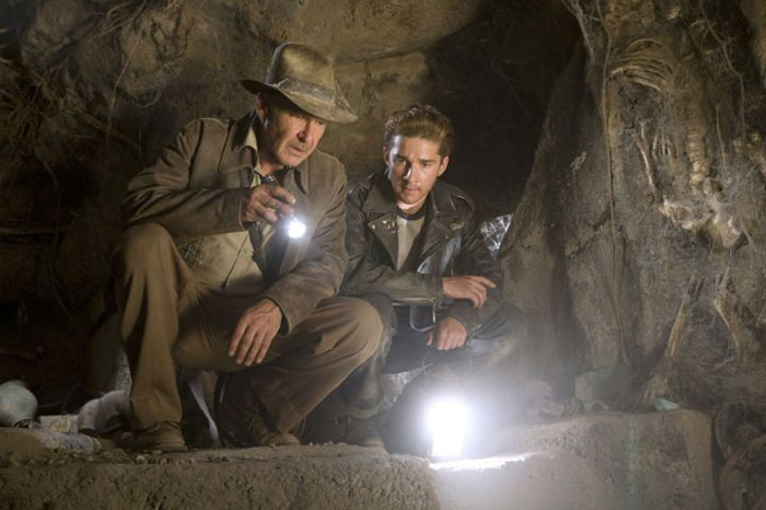 Harrison Ford reprises his role as Indiana Jones after 18 long years