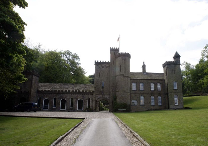 Through The Keyhole Of The Castle Voted Uks Best Home The Independent