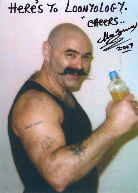 Visiting time: Charles Bronson invites us into his cell