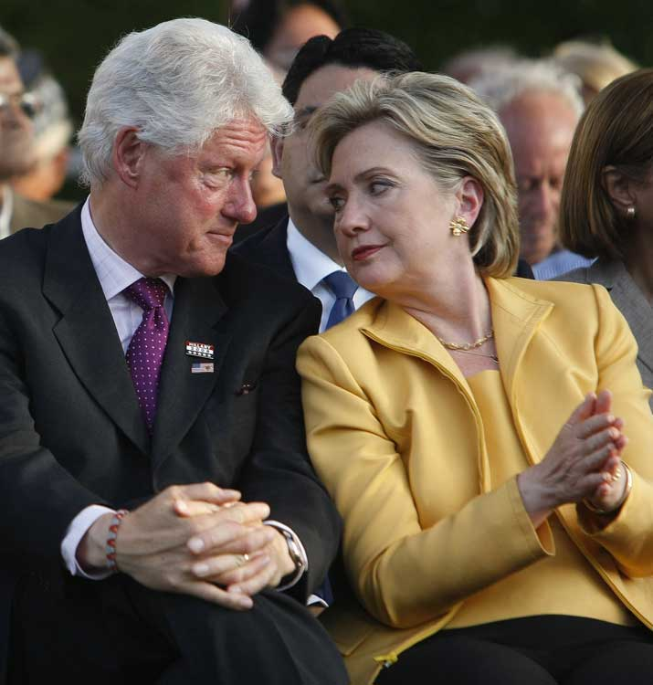 Hillary and Bill Clinton are a famous firstborn couple.