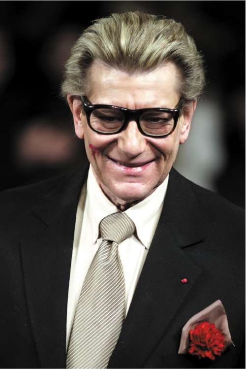 8da61f241422b Yves Saint Laurent  Paris couturier who was revered as a genius but  considered himself a  crazy mixed-up man