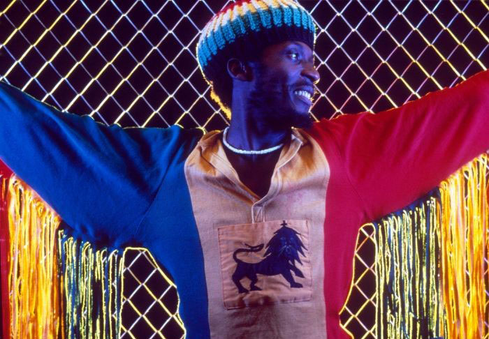Back to the roots: Jimmy Cliff in 1984 © Rex Features