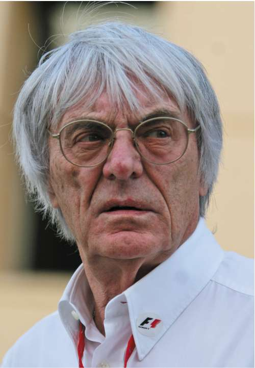 Ecclestone says he would like to see Formula One enjoy 'a little peace'