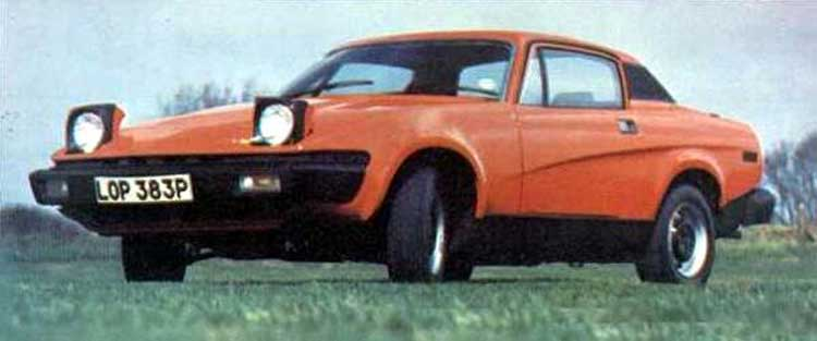 Triumph Tr7 The Independent