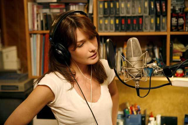 Carla Bruni First Lady Of Schmaltz The Independent