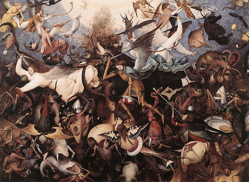 Bruegel Pieter The Fall Of The Rebel Angels   The Independent Bruegel Pieter The Fall Of The Rebel Angels