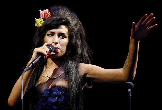 Amy Winehouse was admitted to a private clinic in London after falling ill on Sunday
