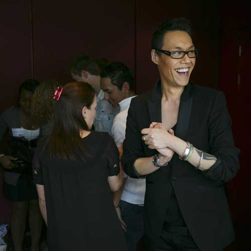 They make no bones about who the series is aimed at: 'OK girls, I'm back' Gok began.