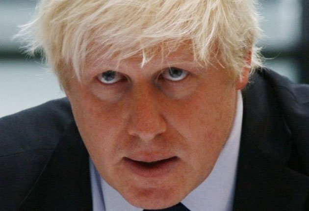 Boris Johnson is backing a cycle-hire scheme for the capital