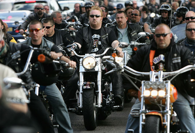 The bloody biker wars | The Independent