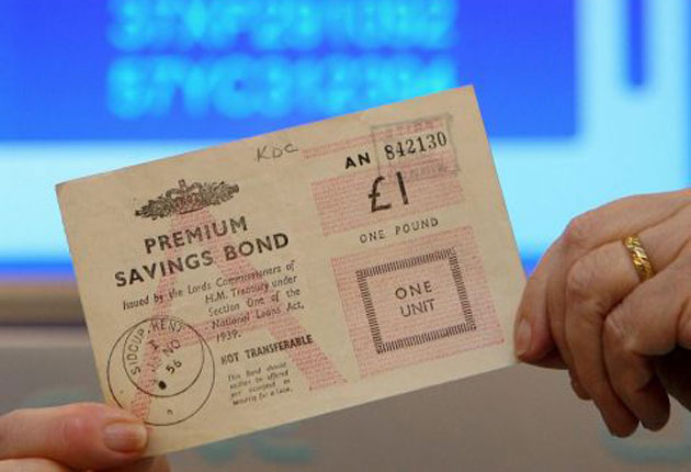 Premium bonds prizes break downs
