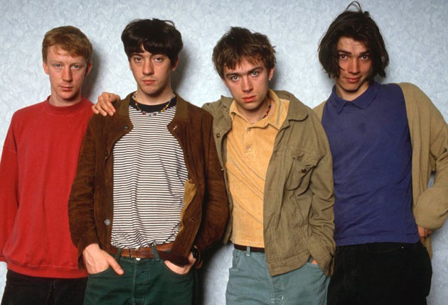 blur are back as albarn and coxon make up the independent