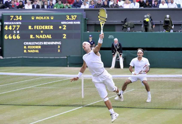 Moments That Made 2008 Rafael Nadal Wins First Wimbledon Title The Independent