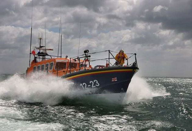 <p>HM Coastguard, which calls on lifeboats to be deployed, has urged the public to use caution when swimming</p>
