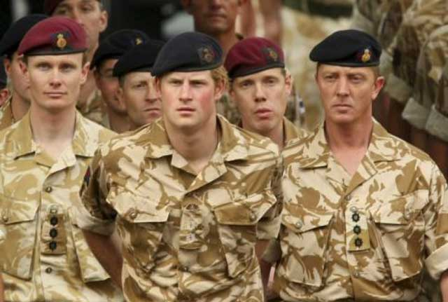 Prince Harry called a fellow soldier his 'little Paki friend'