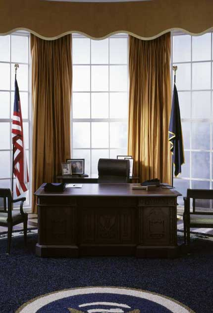 Recreating oval office Fireplace The White House Cardboard Cutout Iusgme The White House Cardboard Cutout The Independent