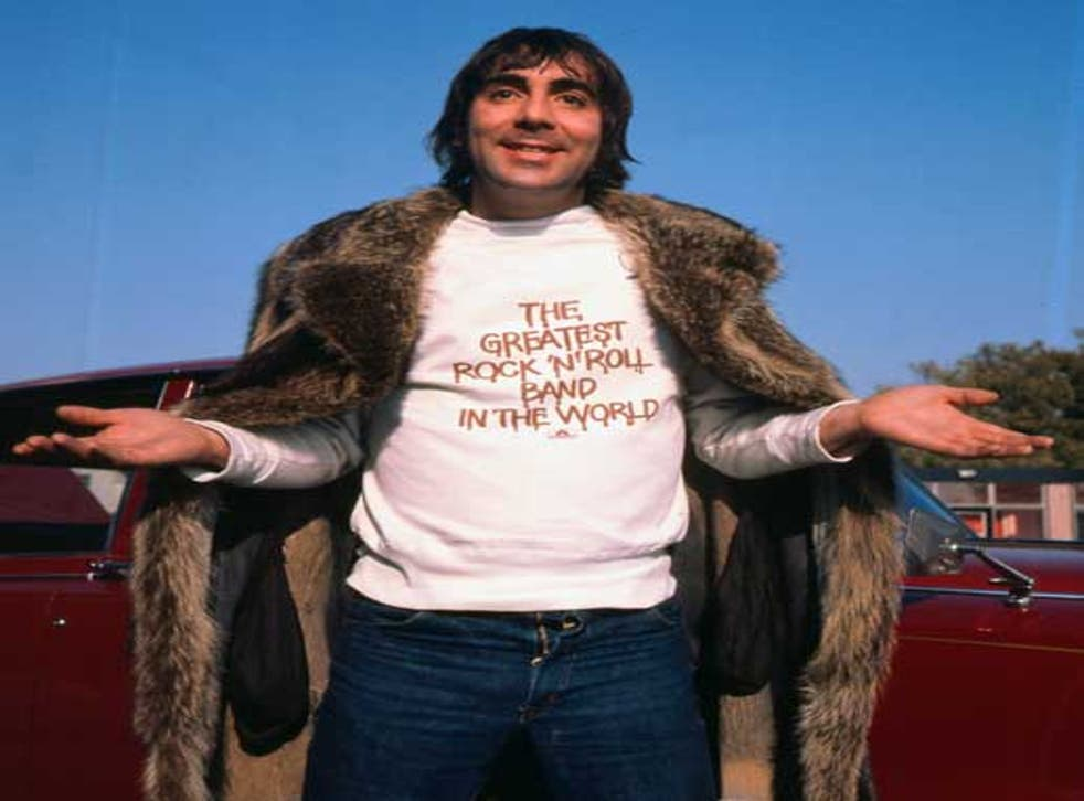 Keith Moon, who died in 1978, was known for a lifestyle characterised by excess