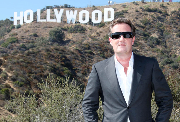 Piers Morgan is in talks to make a chat show in the US.