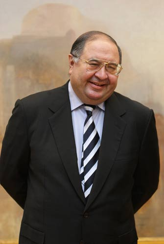 Usmanov has a stake of around 25 per cent in the club