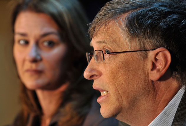 <p>Bill and Melinda Gates have announced that they will end their marriage</p>