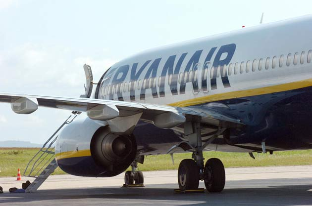 Ryanair reduced fares over the three months to the end of June