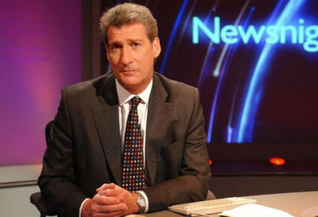 The 'Newsnight' presenter was admonished for claiming that Tony Blair based his justification for going to war on 'lies' when the Chilcot inquiry has yet to report back on the former prime minister's reasoning