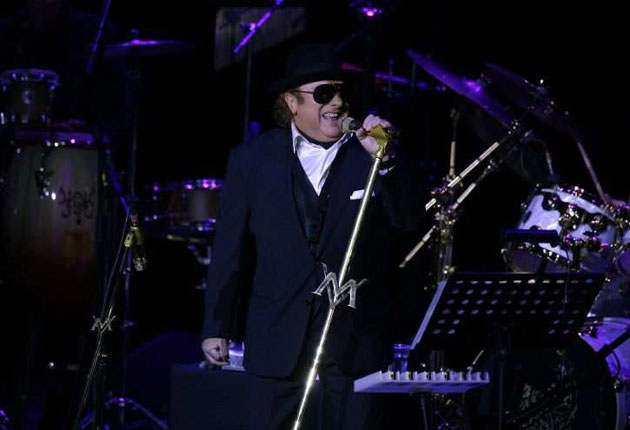 Van Morrison said he had been the victim of an internet hacking attack