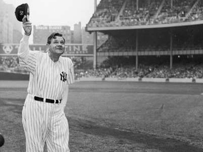 0f1b4971b7a Babe Ruth baseball jersey sells for record-breaking $5.6m at auction ...