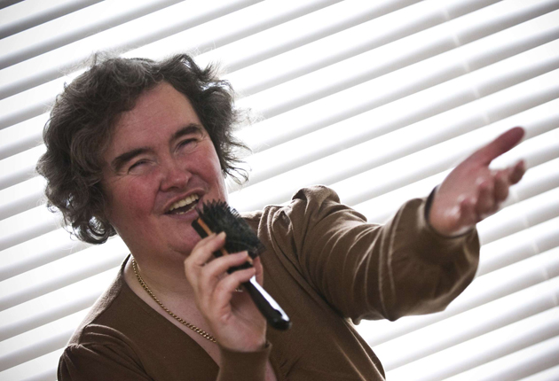 Staff contacted police to say Susan Boyle was acting strangely at her London hotel