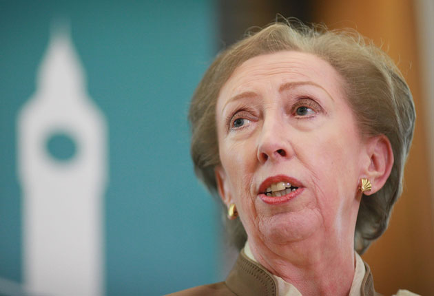 Margaret Beckett was responsible for the report into why Labour lost