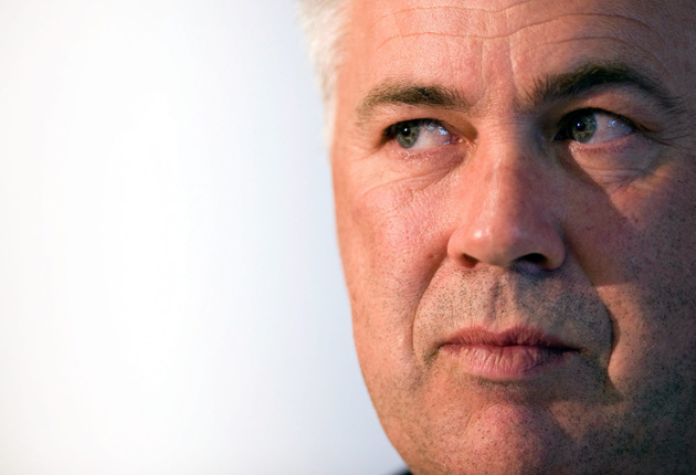 'When I was a player I was not always quiet, I was a fighter,' says Carlo Ancelotti