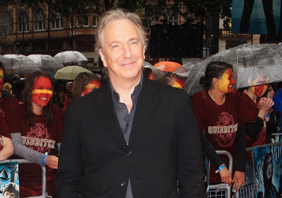 Alan Rickman Admits Editing Terrible Script With Friends In Pizza