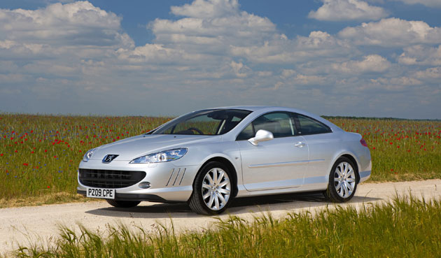 new diesels for peugeot 39 s 407 coupe the independent. Black Bedroom Furniture Sets. Home Design Ideas