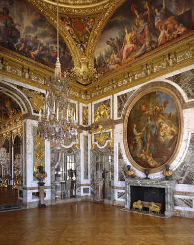 Baroque and roll the opulent style of french kings is for Salon versailles