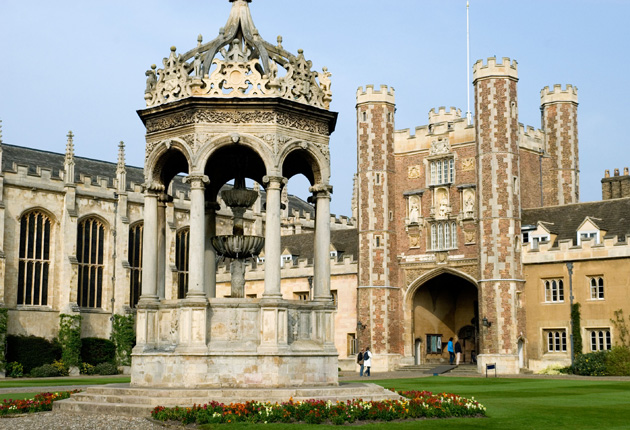 Trinity reclaims place as top Cambridge college | The