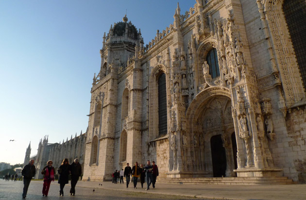 Lisbon: Portugal's capital shares the UK's time zone but its