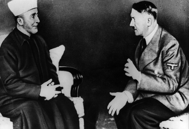 A new book accuses Haj Amin al-Husseini, pictured here in 1927, of responsibility for the Nazi genocide