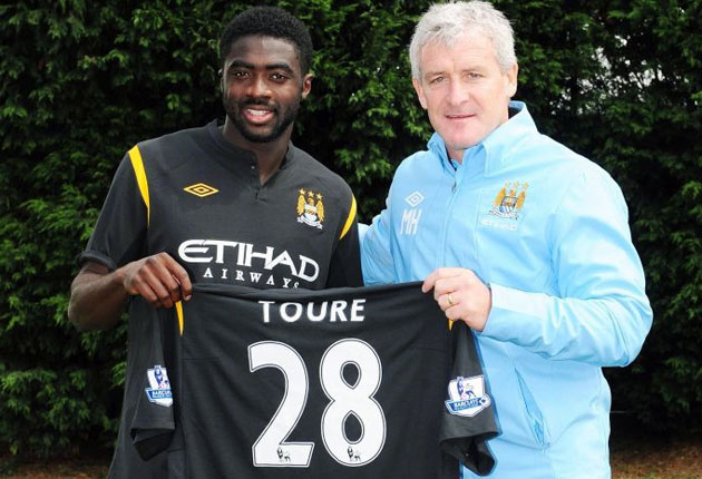 Toure joined City this summer