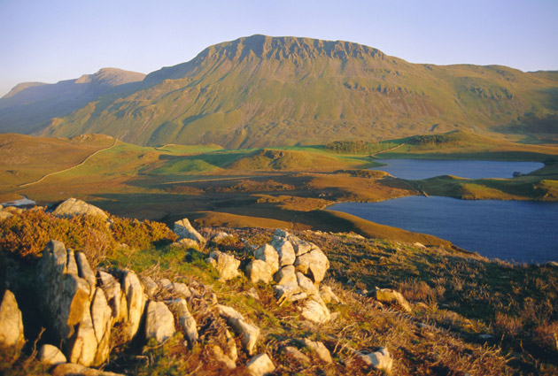 <p>Cader Idris and Cregennen Lake, in Snowdonia National Park</p>