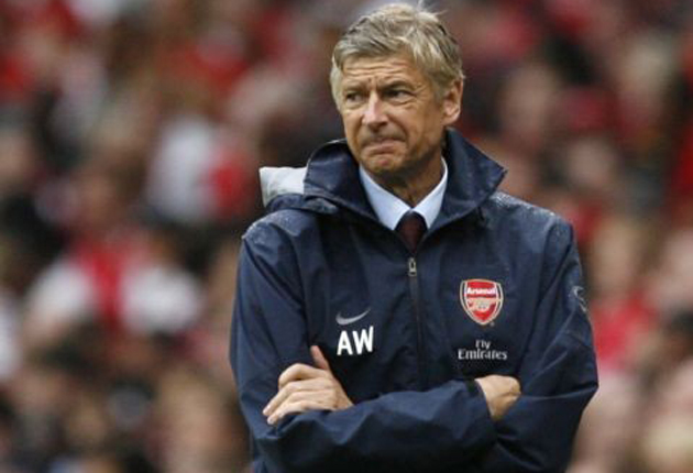 Wenger has been criticised in the past for 'not-seeing' incidents