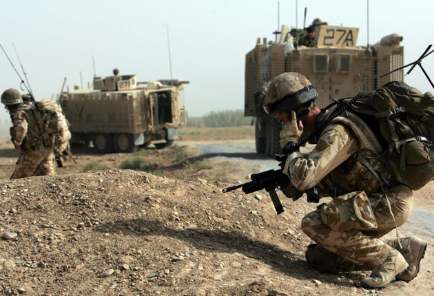 The serviceman disappeared from central Helmand Province in the early hours of this morning