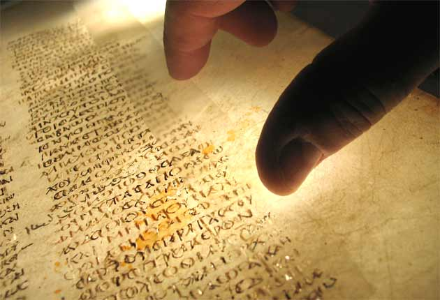 Fragment from world's oldest Bible found hidden in Egyptian