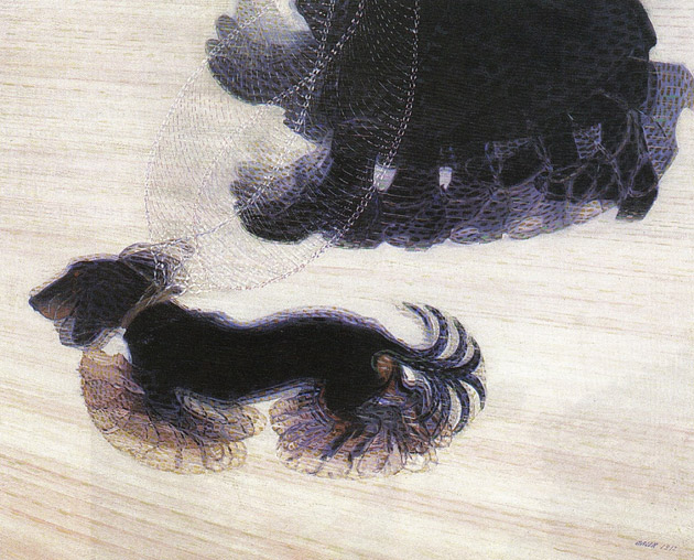 great works dynamism of a dog on a leash 1912 giacomo balla the