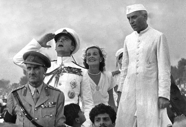 Indian rules for Edwina-Nehru film: no kissing, no holding hands ...