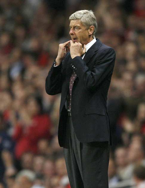 Wenger saw his side give away a two goal advantage