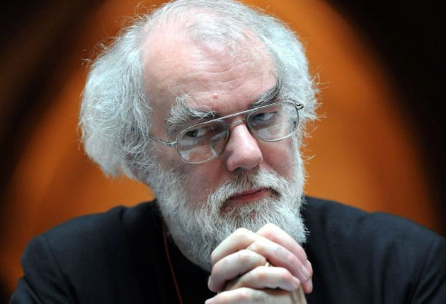 Rowan Williams also appealed to liberals, who smell victory after years of campaigning in favour of women bishops, to be 'generous'