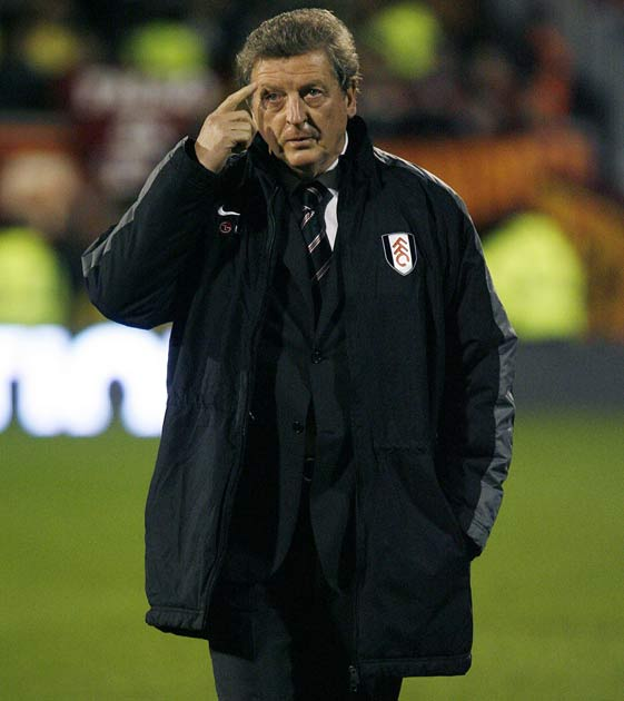 Hodgson oversaw a poor month for Fulham