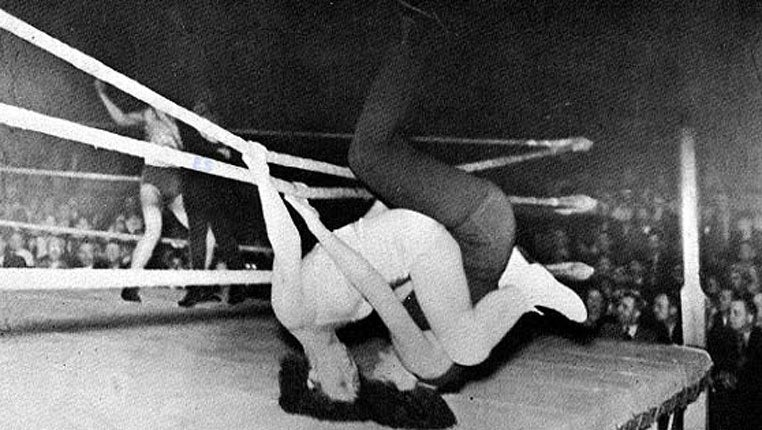 Vintage mixed pro wrestling beatdown 2 with vino - 5 1