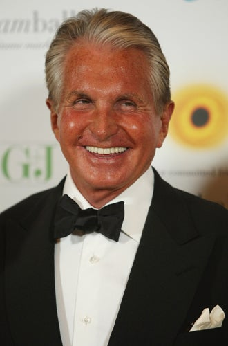 Hollywood Star George Hamilton Quits I M A Celebrity The